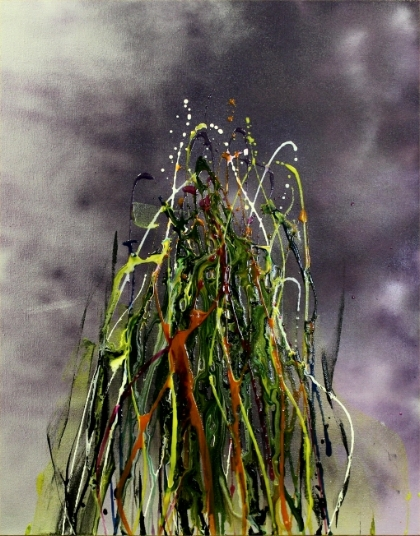 Efflorescence 1, 16x30, $460