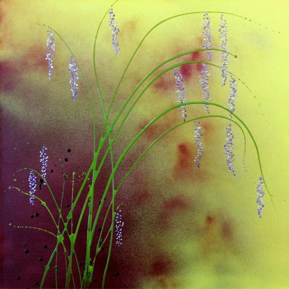Lavender Drops, 30x30, $600