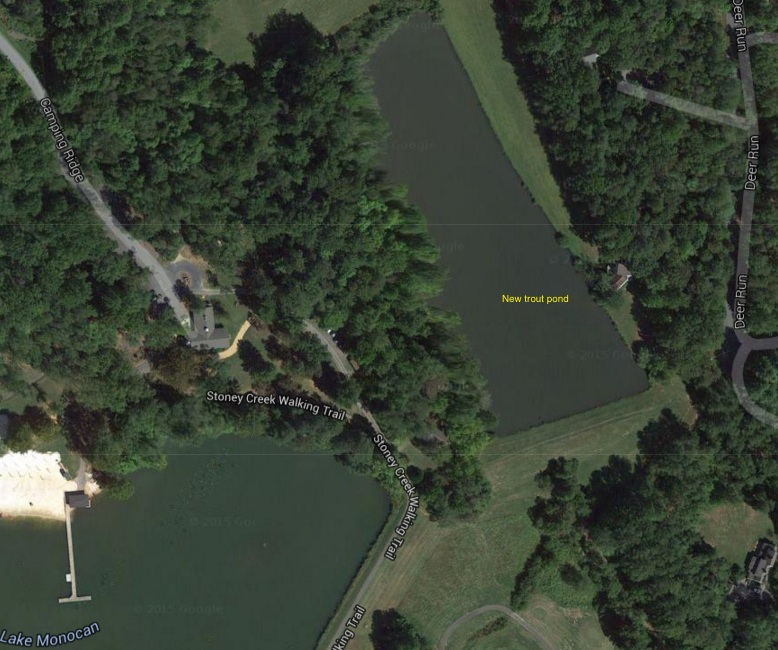 WPOA's trout pond can be accessed via Deer Run or Lake Monocan.  Details HERE.
