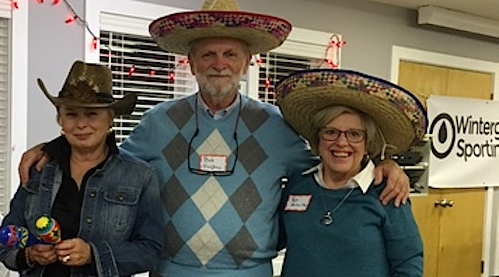2016 WSC Chili Cook-Off Champions (L to R):   VICKI KEENAN FOR MOST UNUSUAL. ,Bob Hughes for Hell on Wheels Hottest, and  PAT SCHULTE FOR BEST OVERALL CHILI.