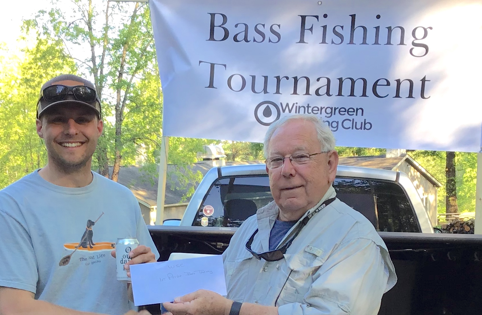 The 2019 winner was John Ellwood. WSC President Ron Cote' (right) sent the winner home with a $50 gift certificate to Field and Stream/Dick's Sporting Goods from the club.  See the announcement with details about the contest here.