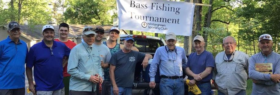 This year's tournament had some 18 people fishing the ponds of Wintergreen