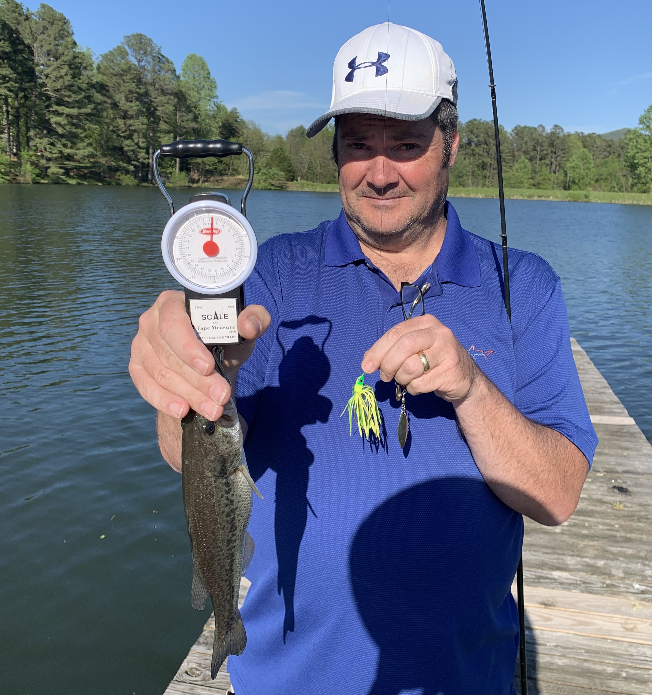 Bill Scott's third-place fish