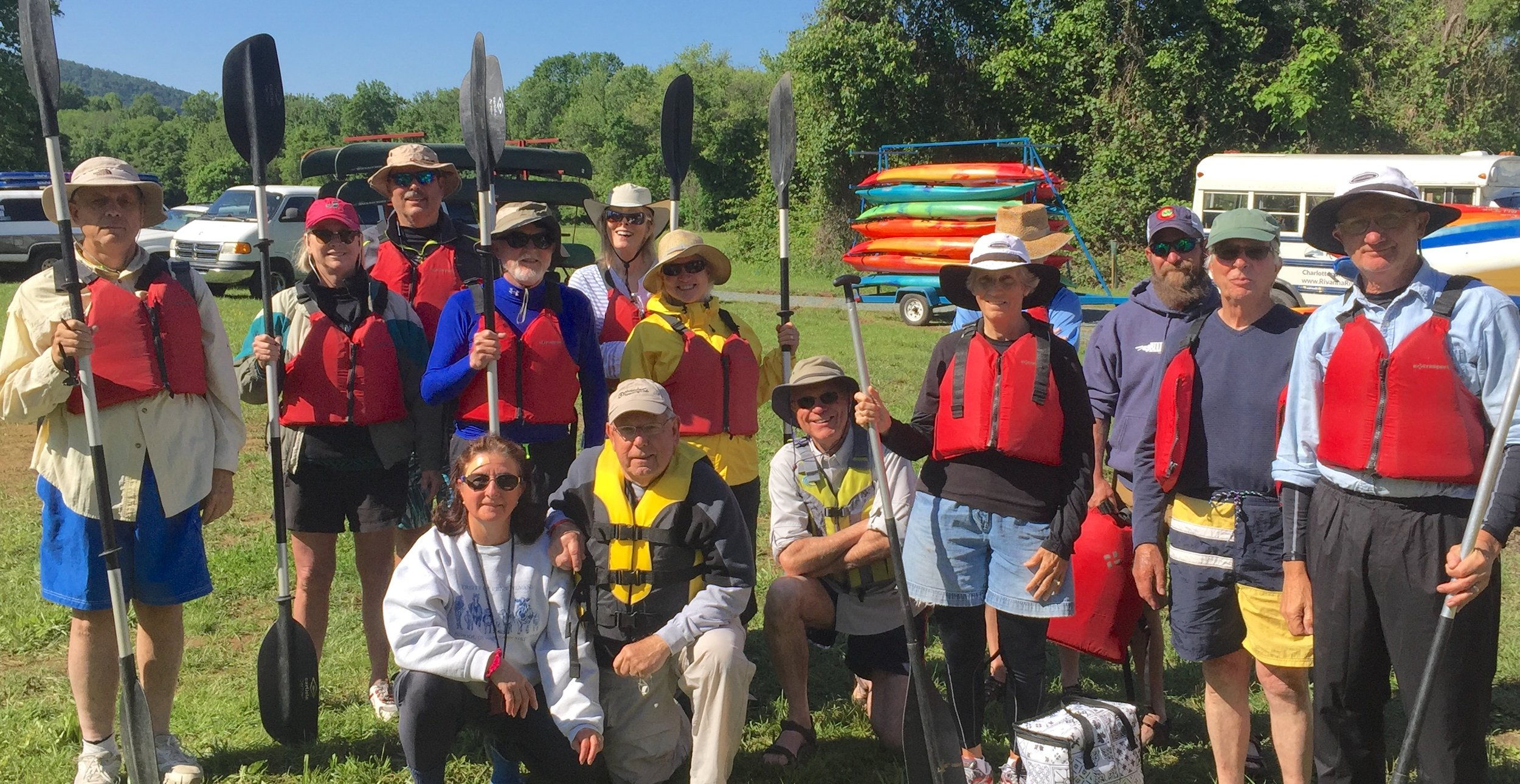 Fourteen club members made the May trip.