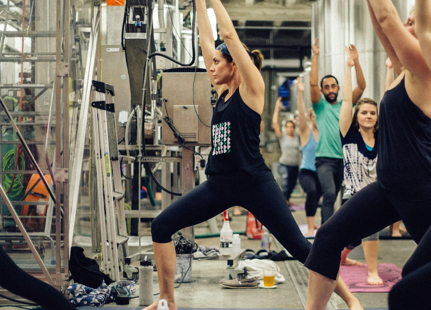 Join us at Tin Roof Brewing Company on Wednesday from 6:00-7:00pm for a complimentary yoga class followed by a well-earned brew.