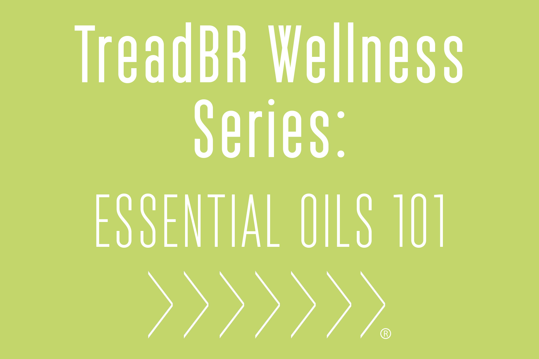 Join us on Wednesday, March 15 for an Essential Oils 101 seminar. We will go over the basics of using essential oils, plus some tips for incorporating oils into your daily exercise routine. Can't join us at the studio? No worries, you can catch the whole thing on Facebook Live!