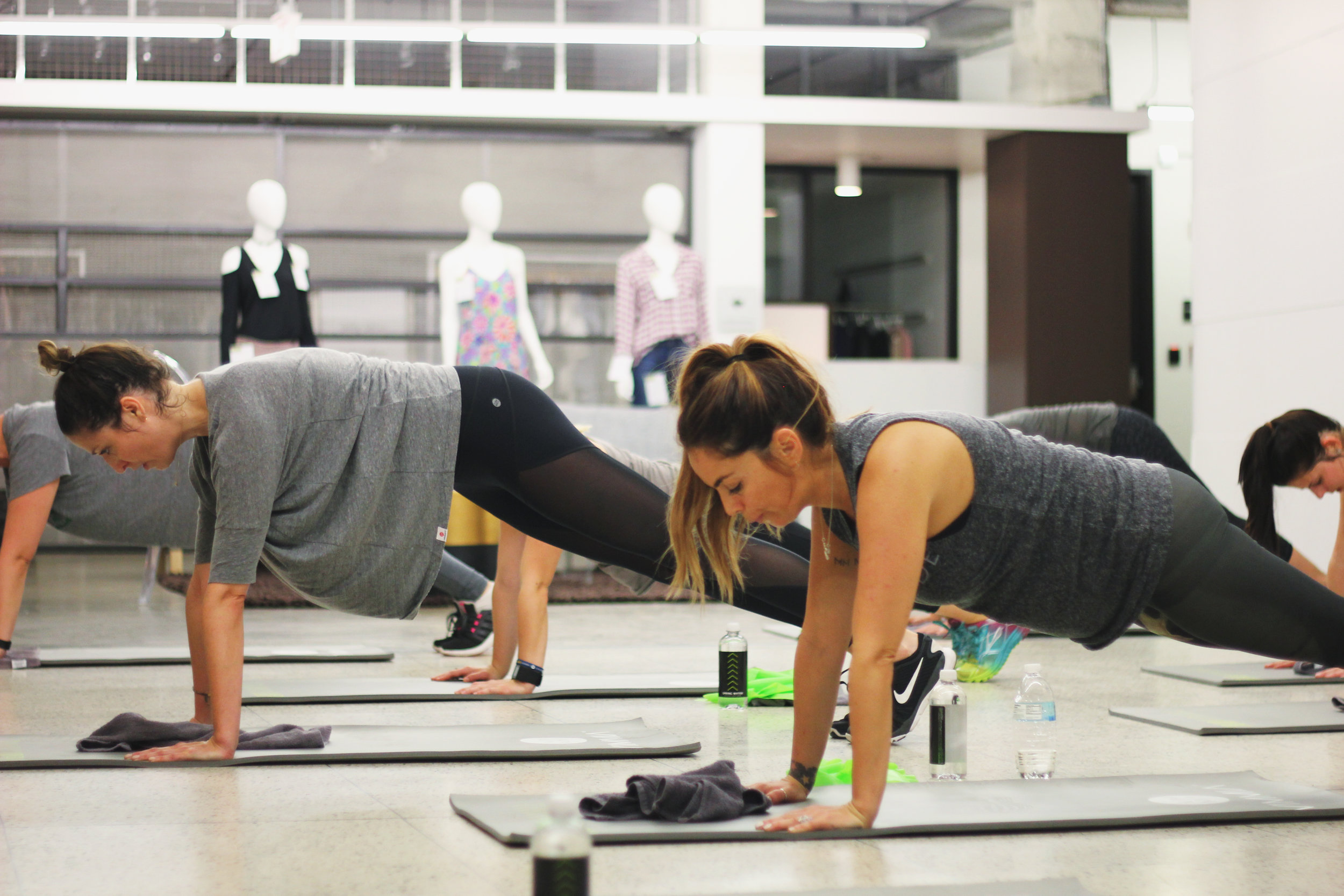Join TreadBR founder, Nicole Williamson, as she winds down your Wednesday at FIG in Dallas! She'll be leading you through a one-hour workout sponsored by Vimmia focusing on lengthening and stretching your muscles, while simultaneously strengthening your body.