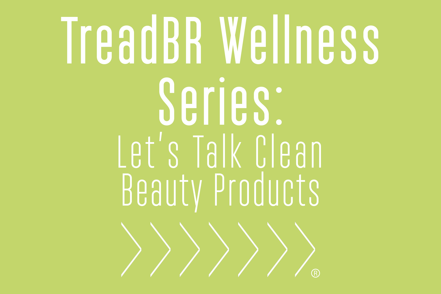 Let's get serious about the ingredients in our day-to-day beauty products! Join us on Monday, March 13 to talk about and sample some cleaner and safer options for our everyday routines.