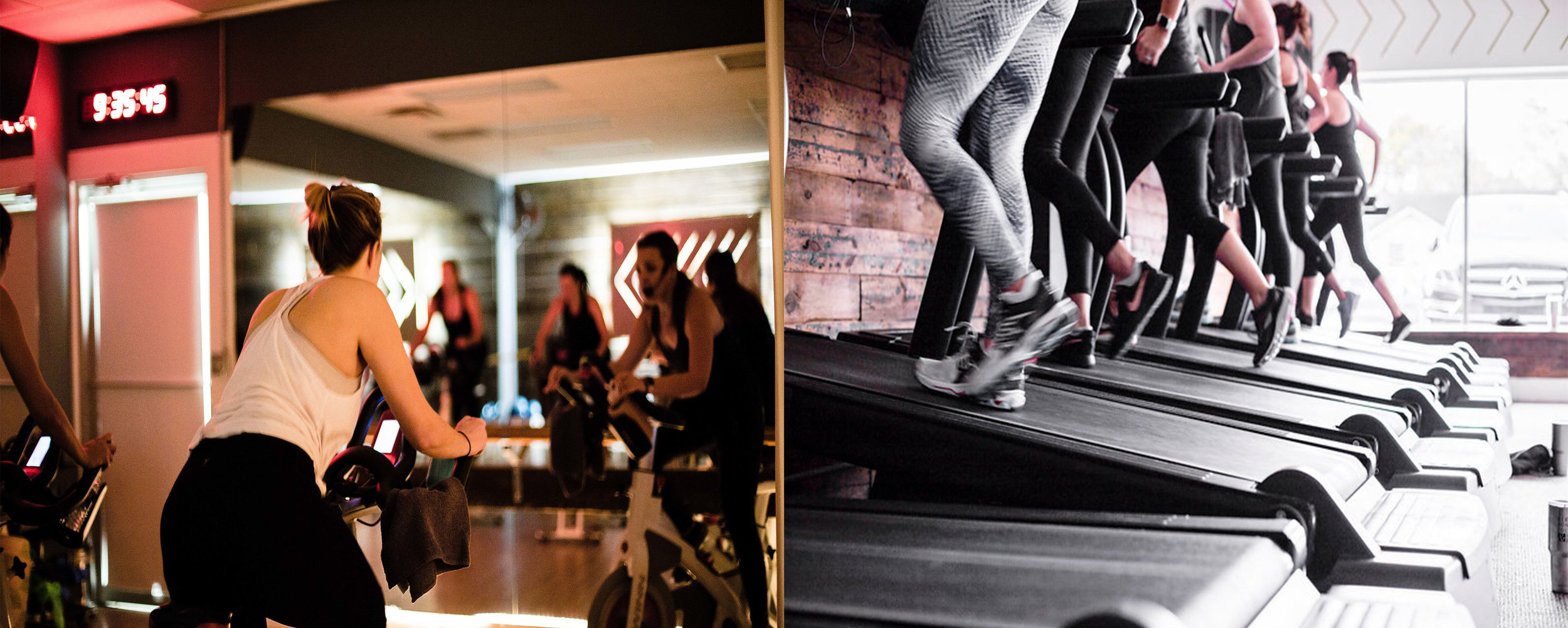 Try our special combo cardio class taught by Kristen Arsenault and Kelsey Cutrell:  30 minutes of bike  30 minutes of a treadmill based workout.  Sign up on Mindbody