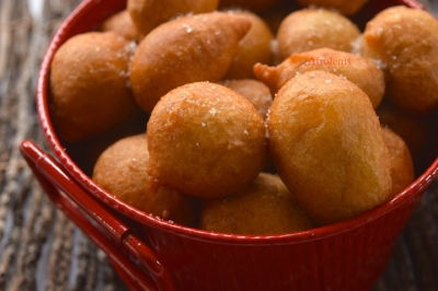 Nigerian food blogger Afrolems' puff puff