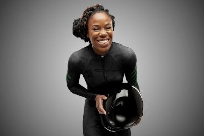 Akuoma Omeoga - Nigerian Bobsled Team Brakewoman (Photo credit Obi Grant)