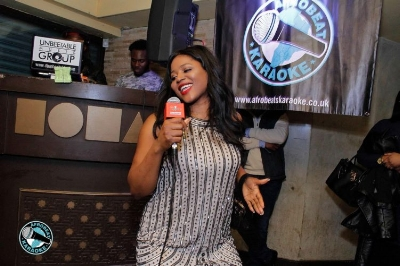 Afrobeats Karaoke in action