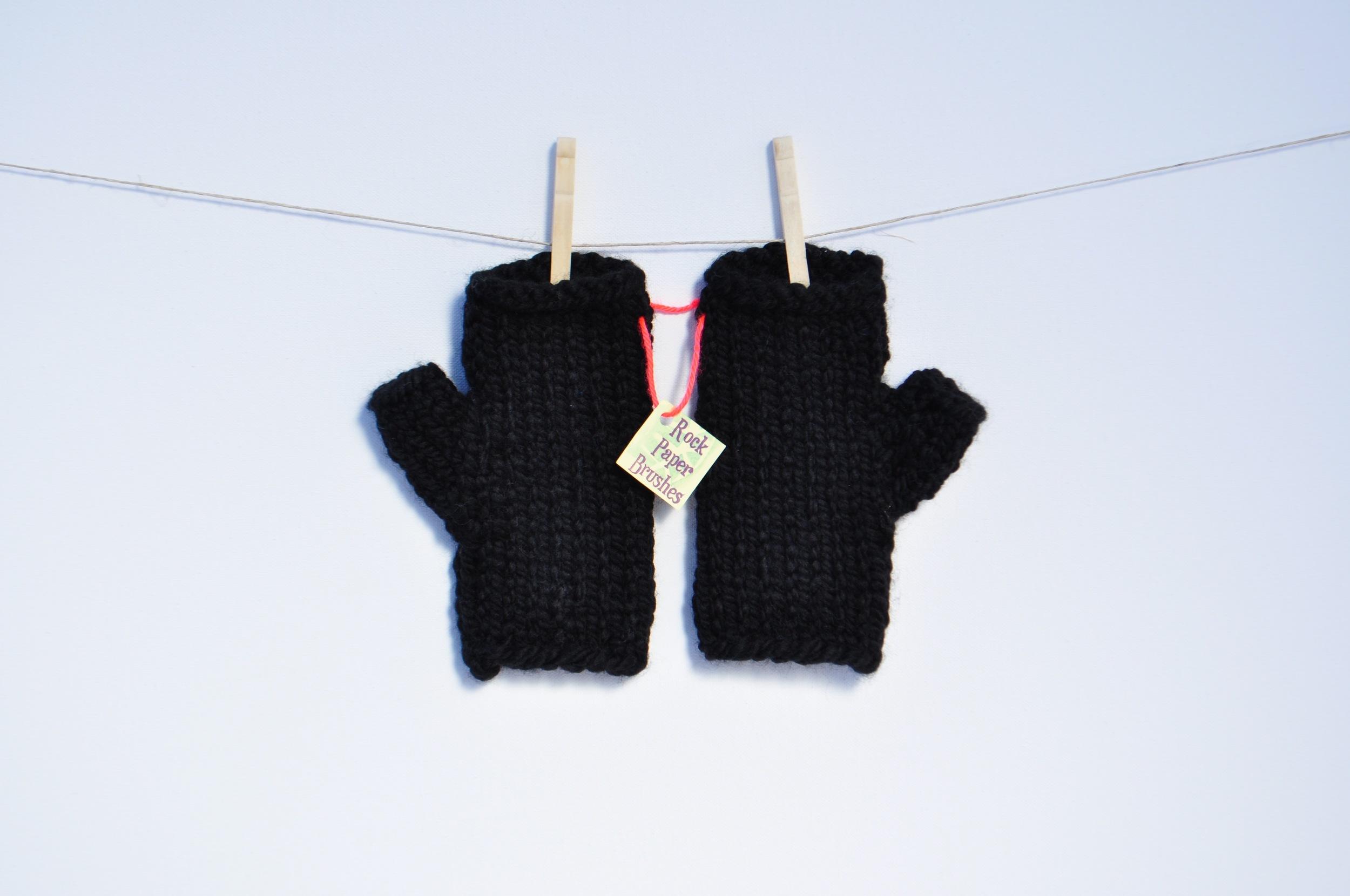 Bulky Fingerless Gloves