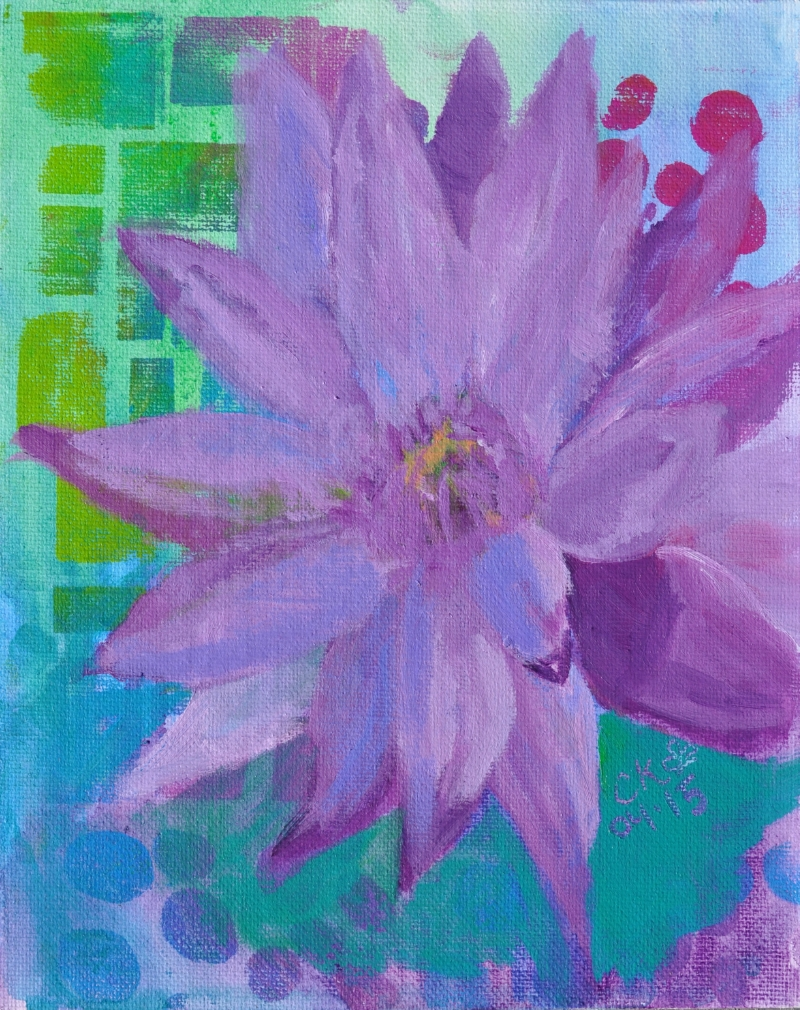 Bright Purple Lily