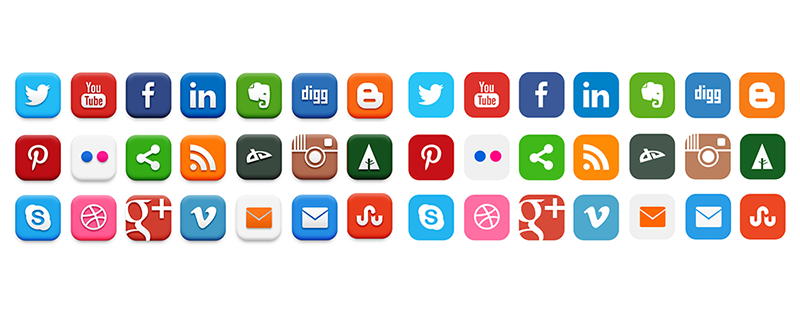 The amount of social media platforms can be overwhelming - just pick the ones you like best and share away!