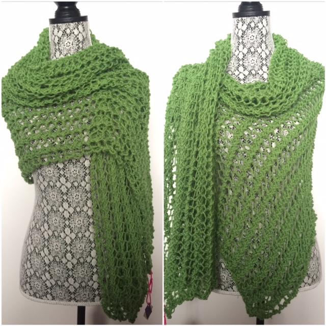 Lace Rectangle Wrap