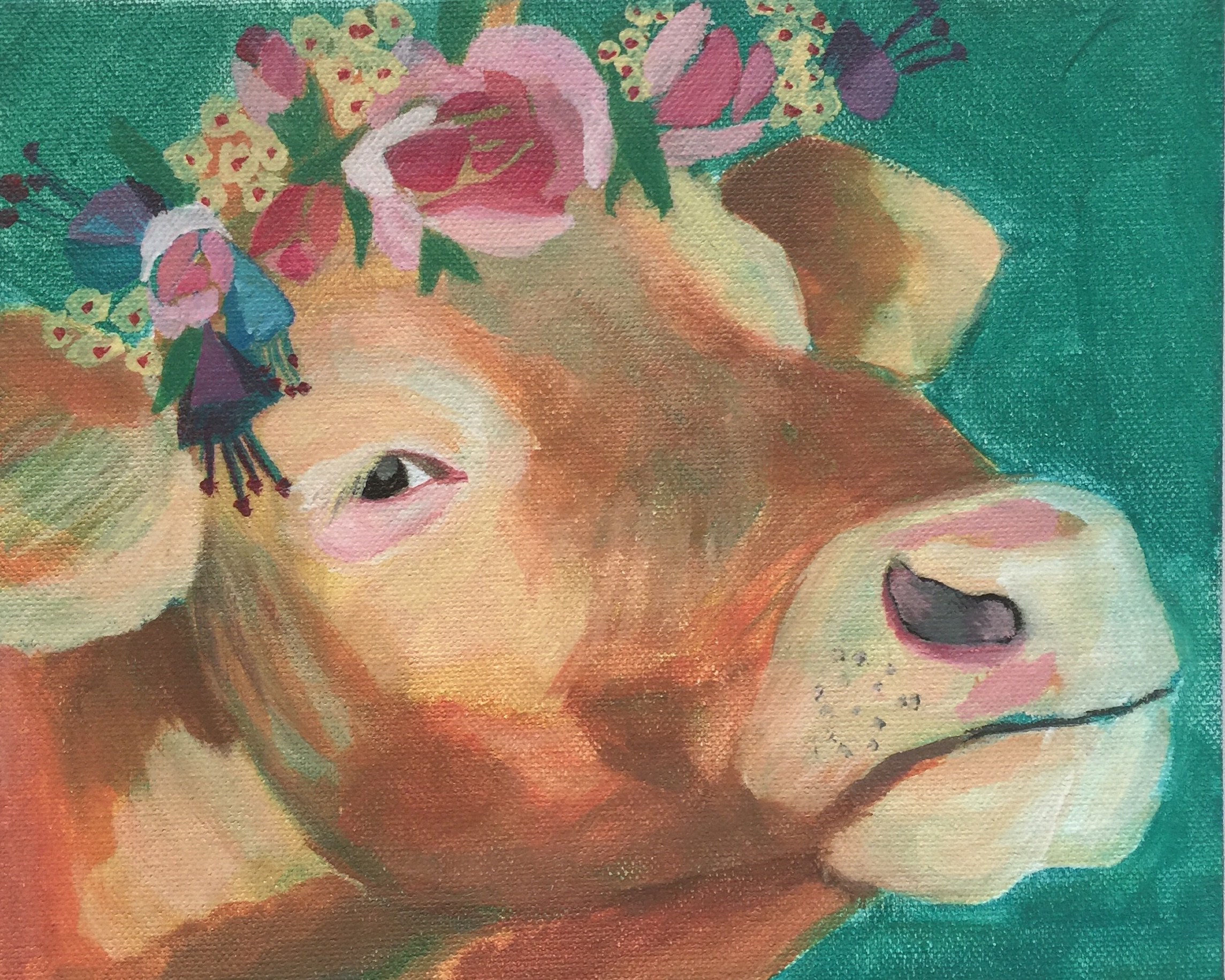 Flower Cow