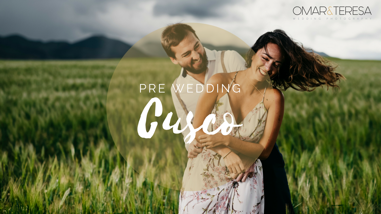 New video in our VLOG - Pre Wedding in the Sacred Valley, Cusco #MakingOf -