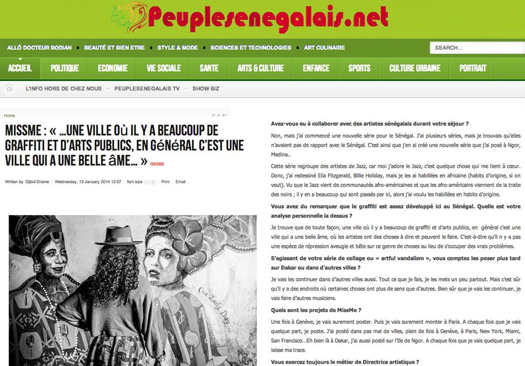Peuple Sénégalais