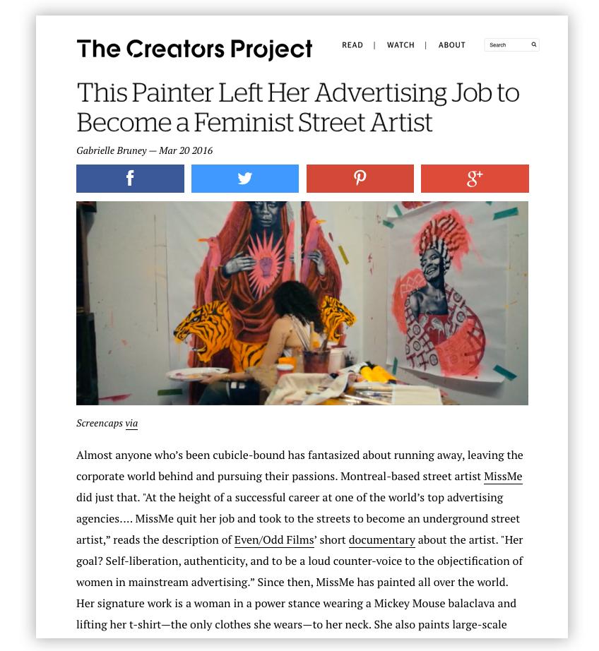The Creators Project