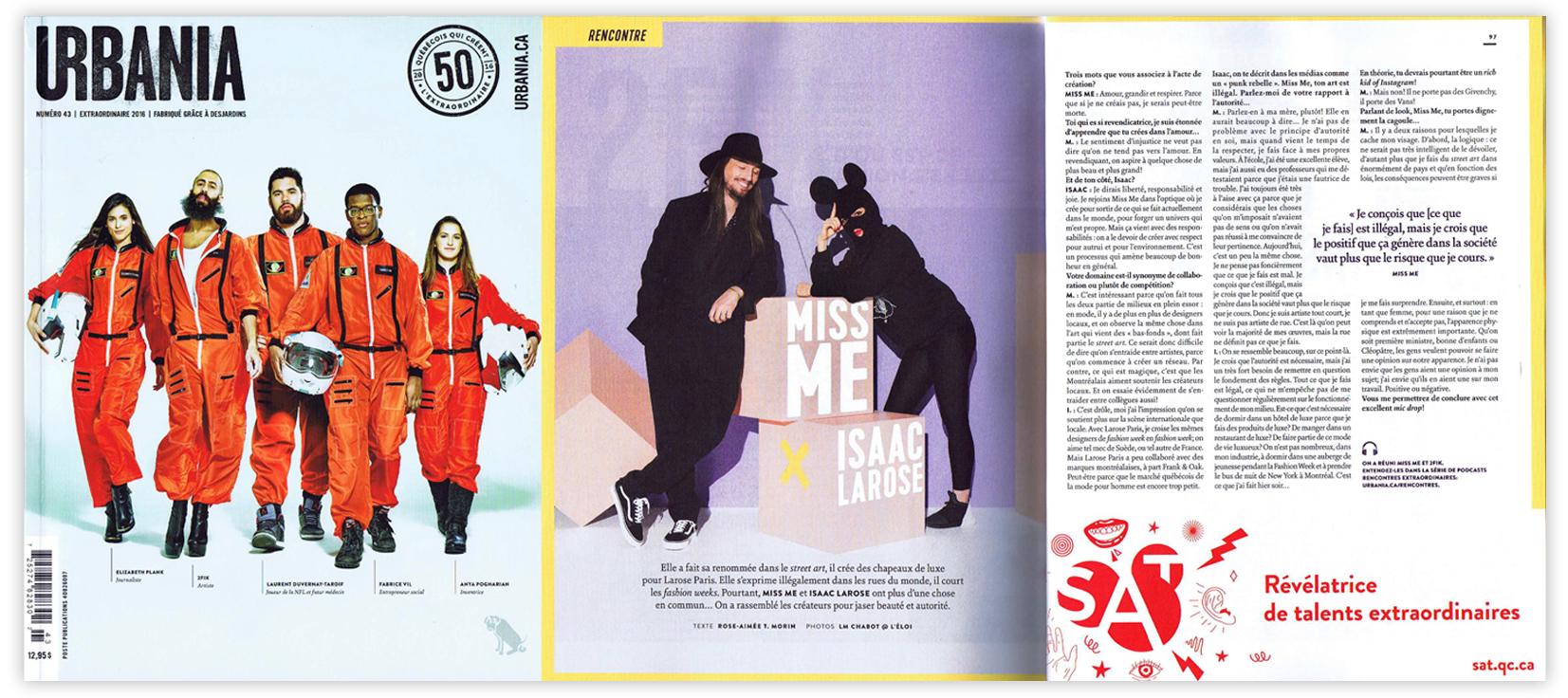 URBANIA Magazine