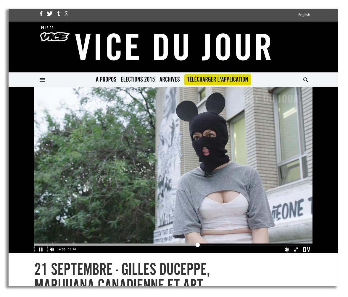 Vice du Jour