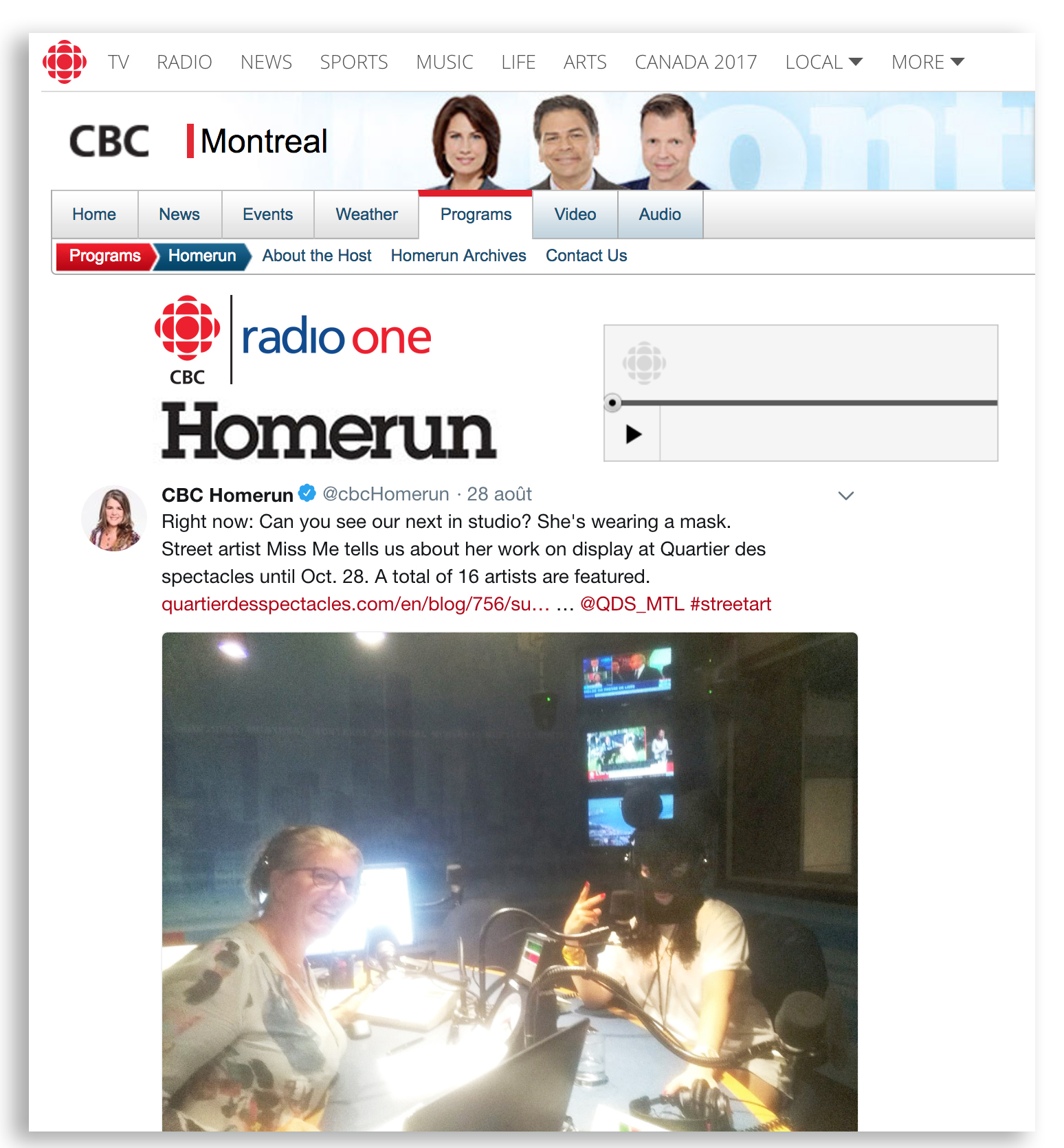 CBC Homerun