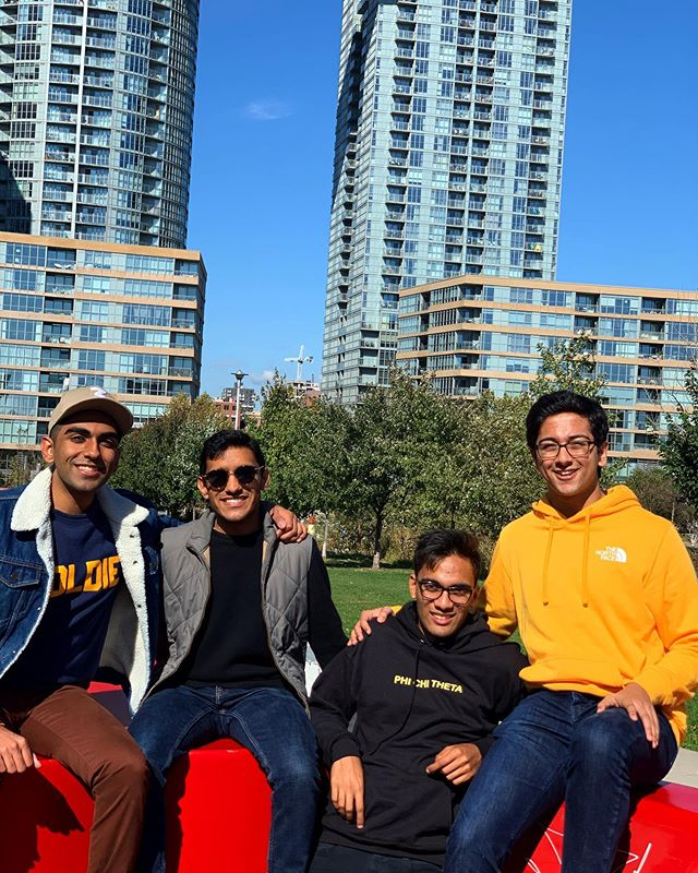 Missing the Toronto sunshine!🇨🇦☀️Stay tuned for more announcements about where we're touring for the rest of the year! . . . . . . . . . #throwback #travel #acappella #bollywood #international #music #masala #canada #tourism