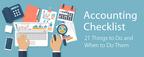 Small Business Accounting Checklist