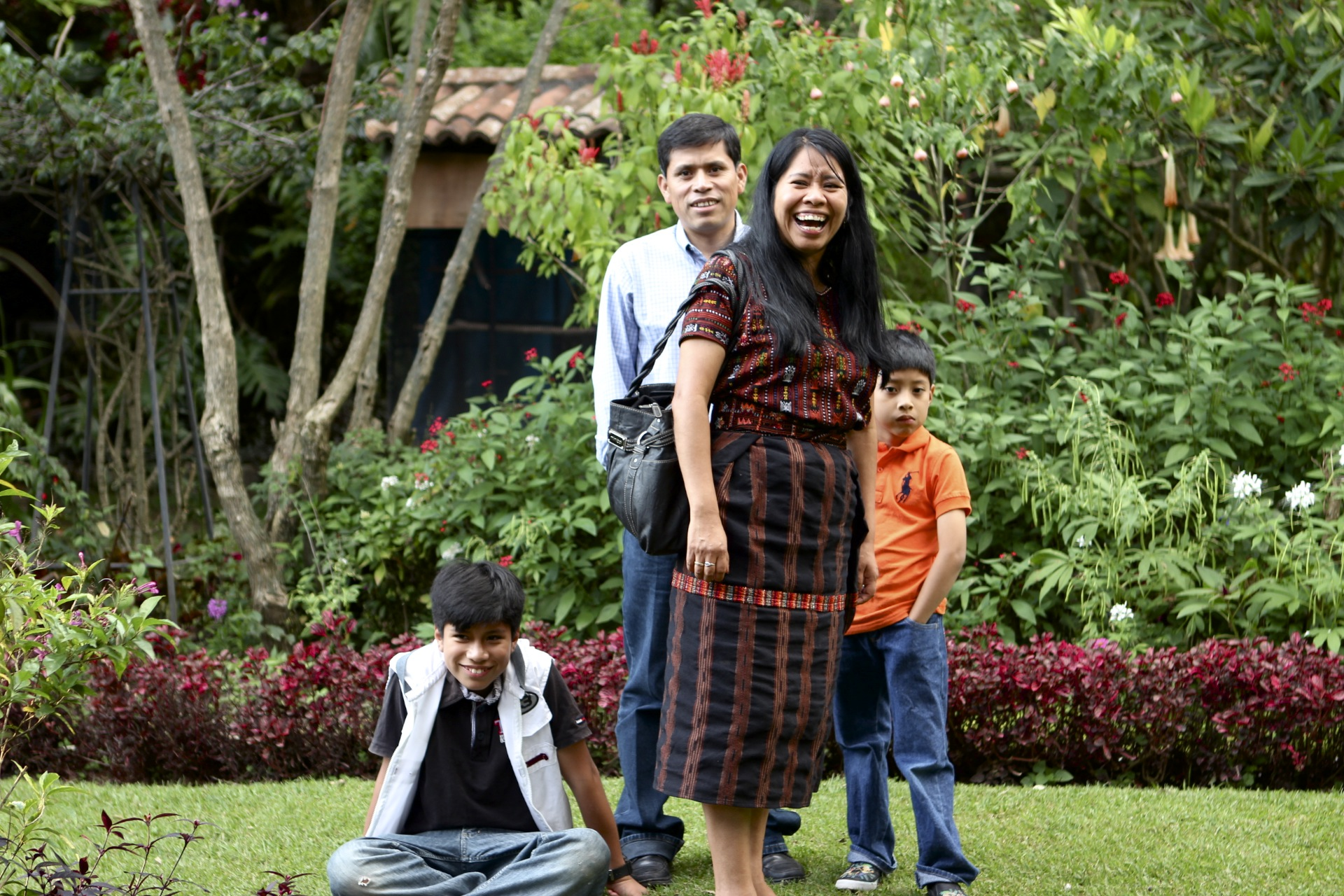 Candelaria and Gregorio have two amazing young sons, Brian and Pablo, who are learning what it means to live a sacrificial, unselfish, give-it-all-you-have lifestyle. They both attend an American school in Panajachel in English, and Brian is now tutoring English for some of the scholarship students.