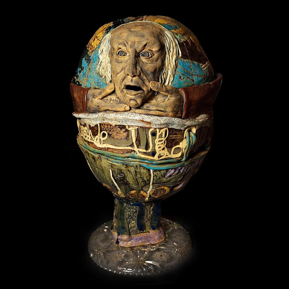 """World Egg 35"""" 1970"""