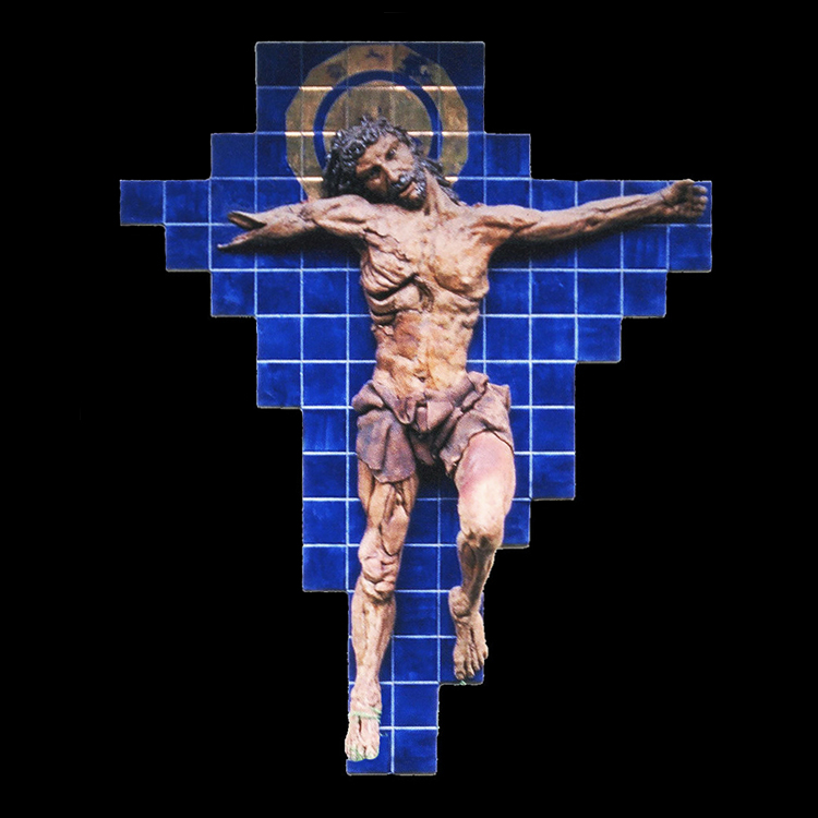 "Crucifixion Newman Center, University of Montana 74"" x 53"" 1969"