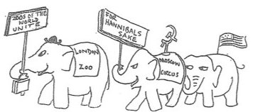 The elephants of the world unite to find Hannibal's route.