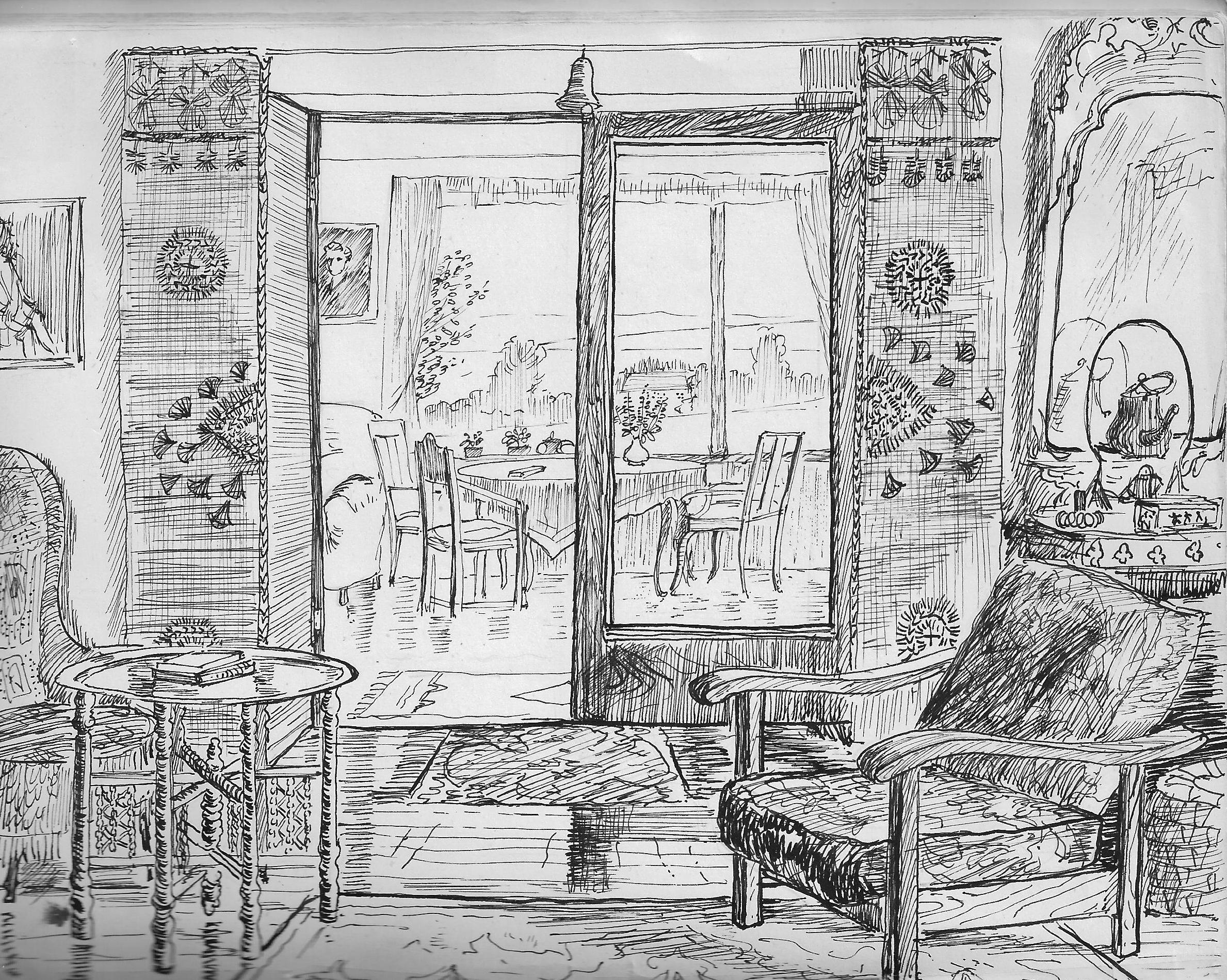 Aunt Dorothy's home, Isle of Helgoya, Norway