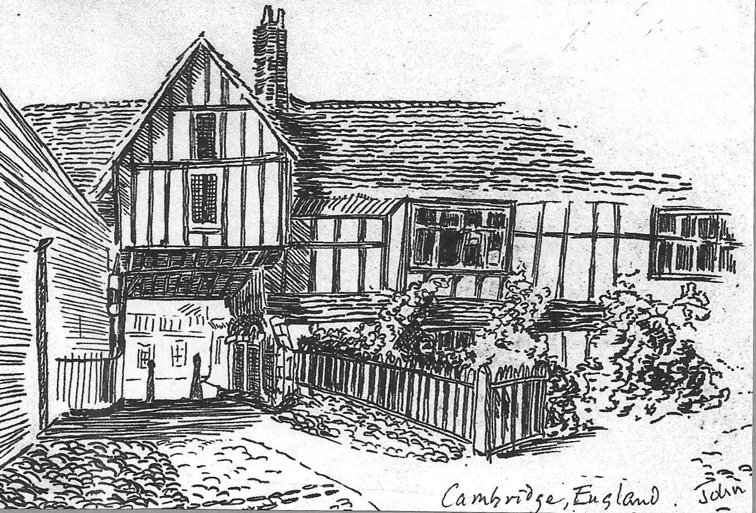 Old Tudor Inn, Cambridge