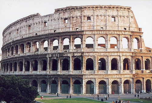 Colosseum in Rome                                                               Joseph Tame/Flickr