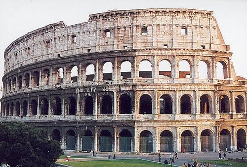 Colosseum in Rome                               Joseph Tame/Flickr