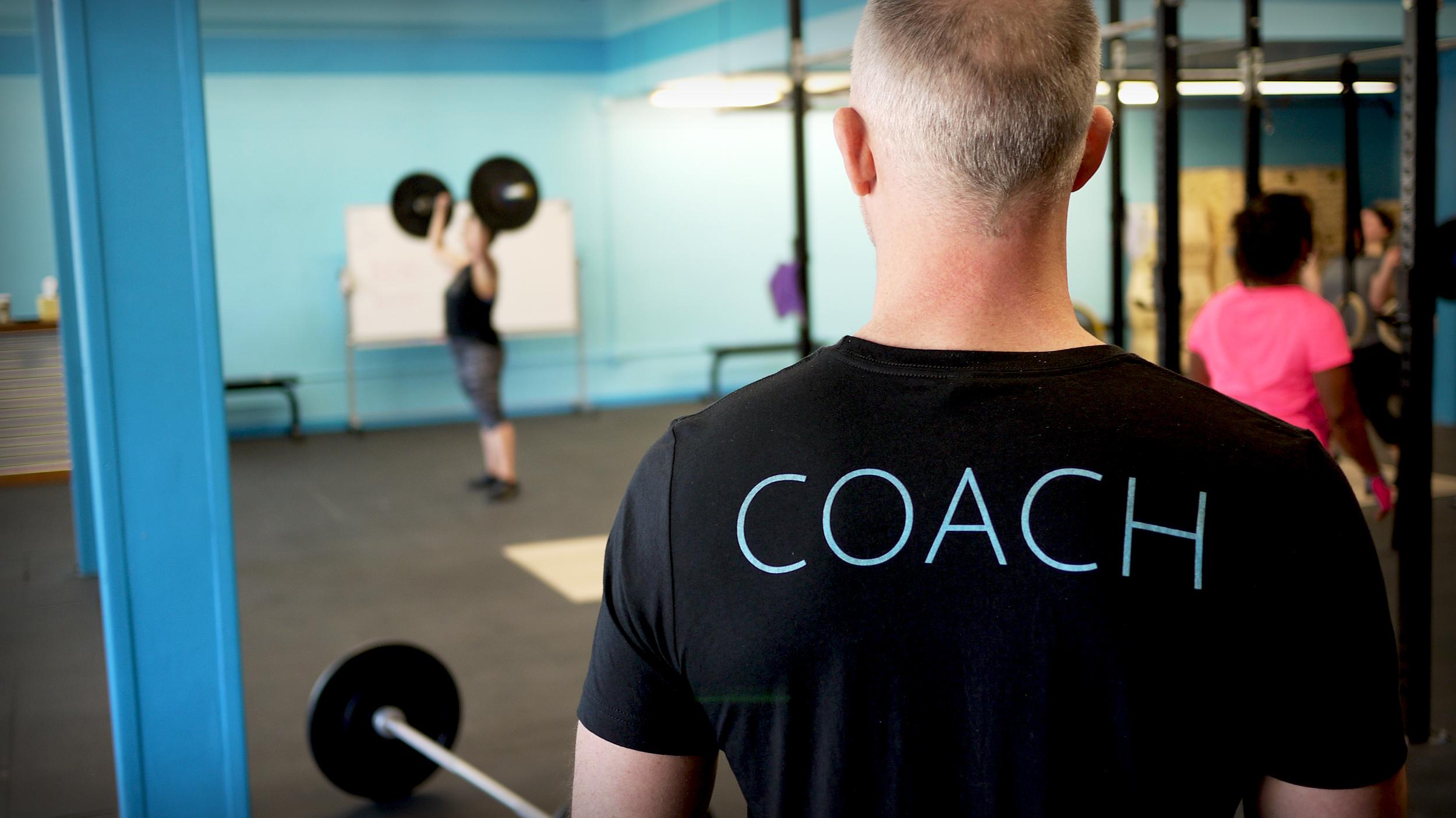 Crossfit Spero coach shirt