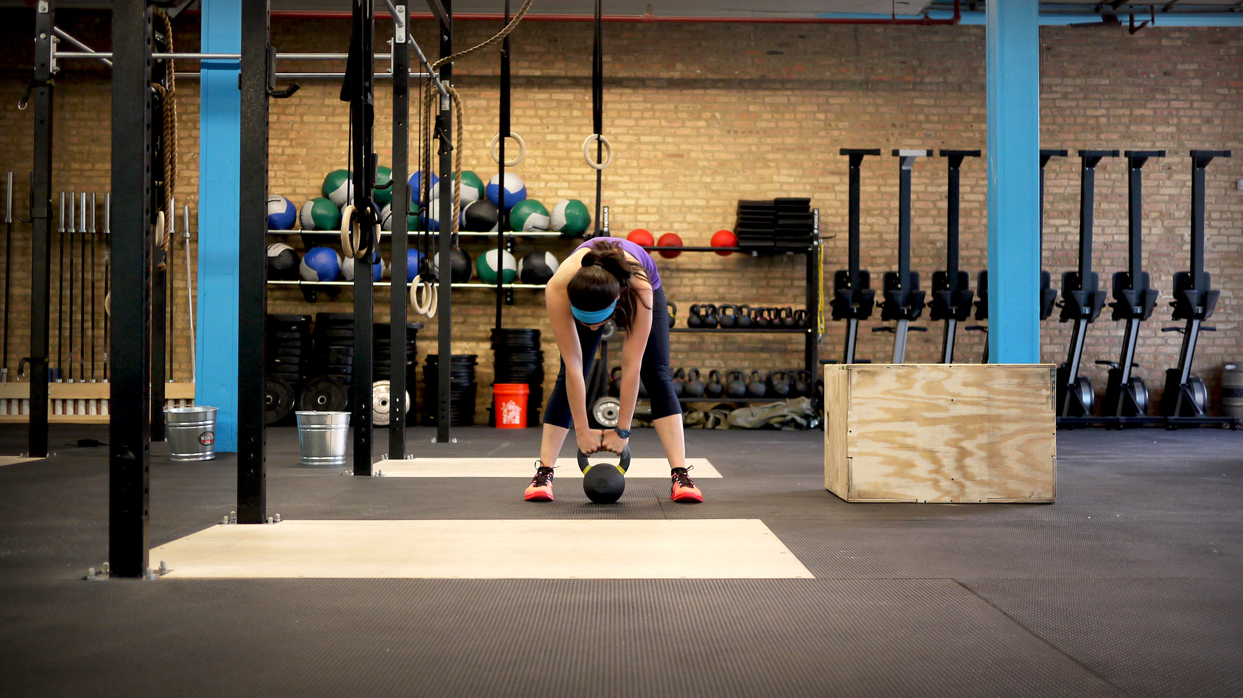Kettlebell lift Crossfit Spero
