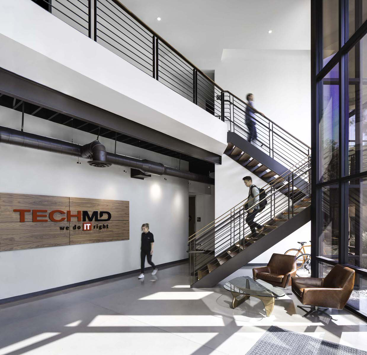 "The ""IT"" space - a commercial internet tech space designed by the Anders Lasater team that was voted "" one of the best places to work "" by Orange County Business Journal"