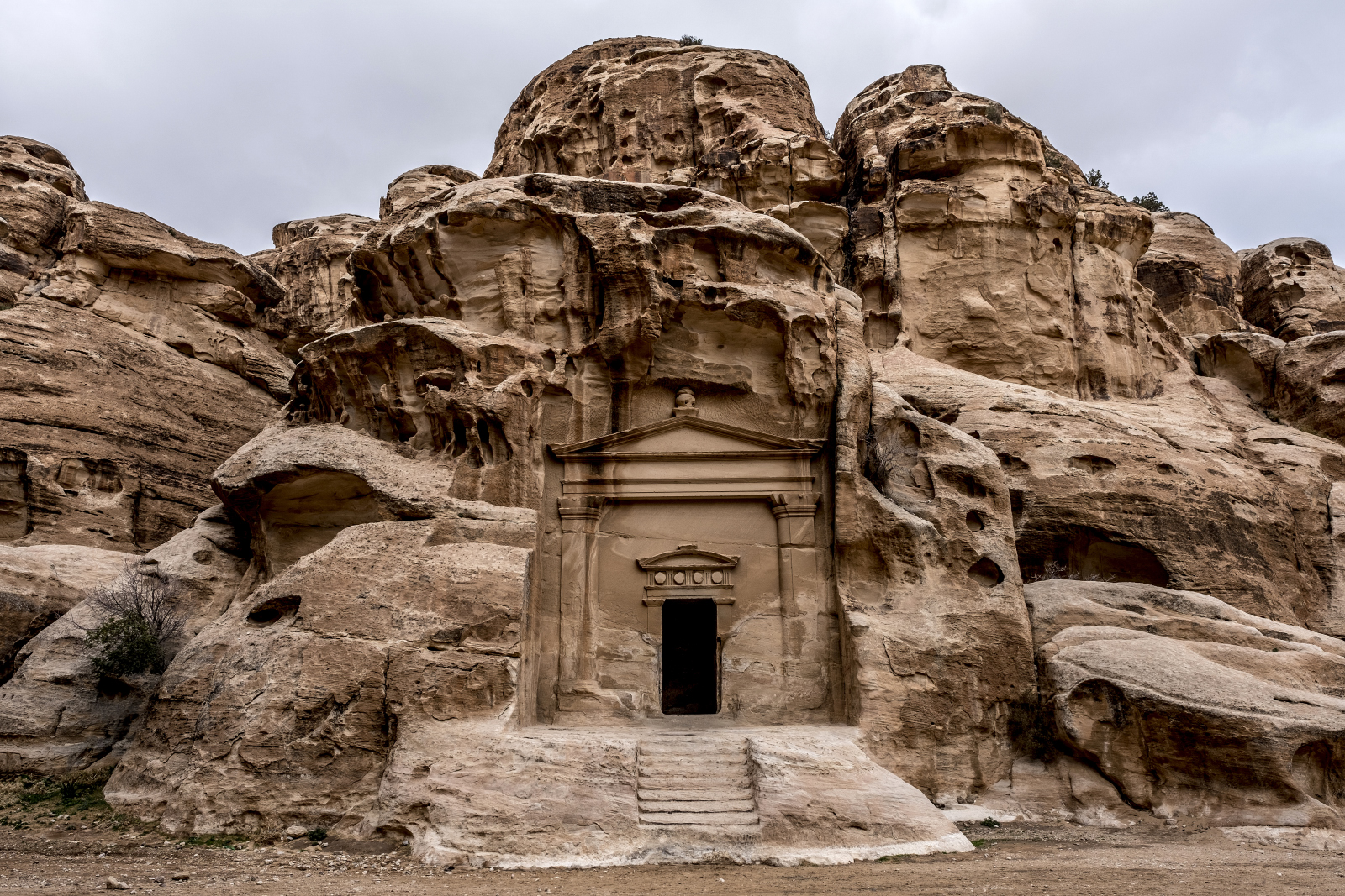 Little Petra - an off-the-beaten-path site of the nabatean people