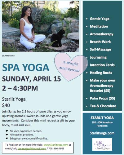 SPA Yoga with Sanaz