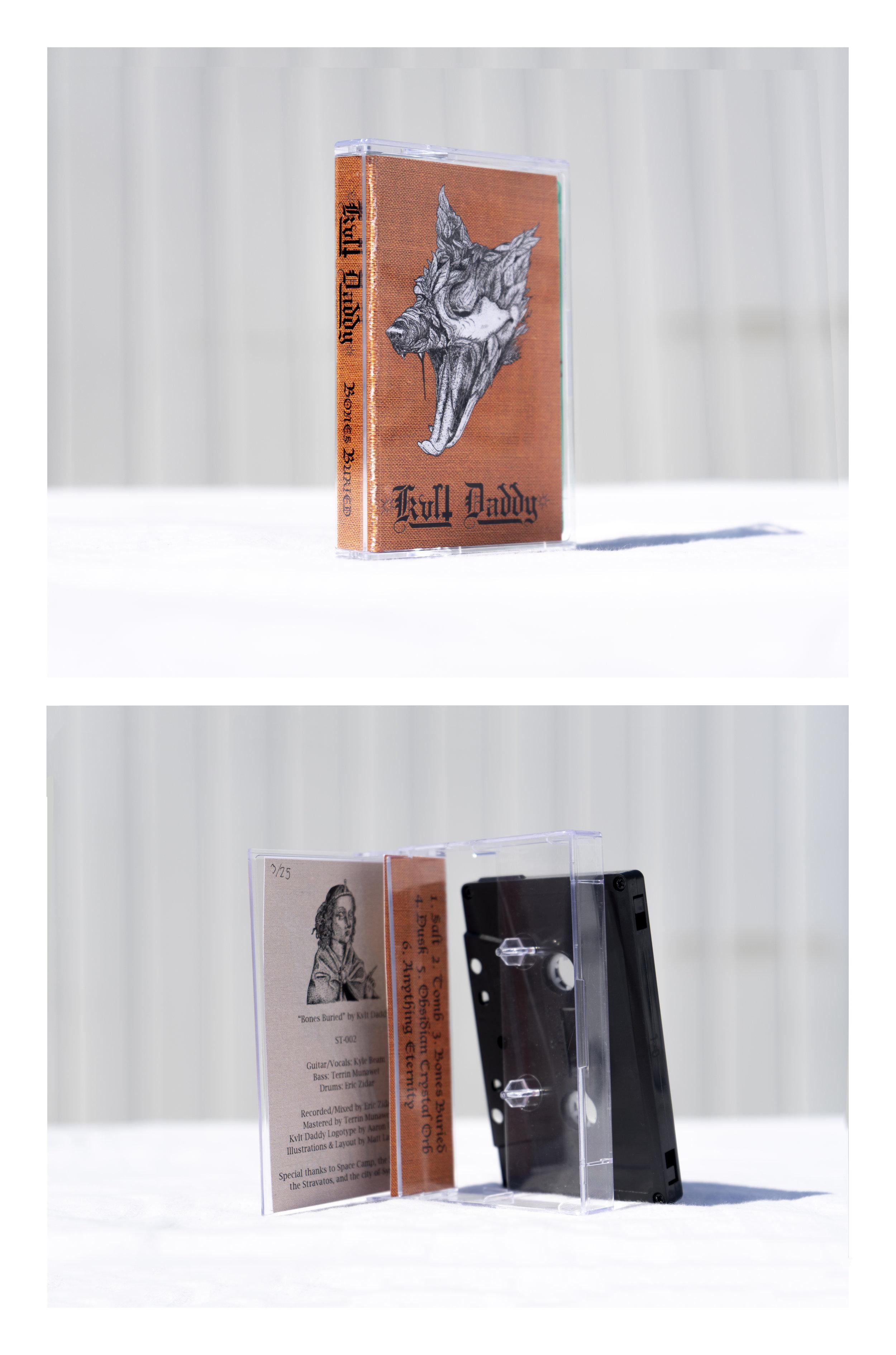 Kvlt Daddy - Bones Buried Cassette