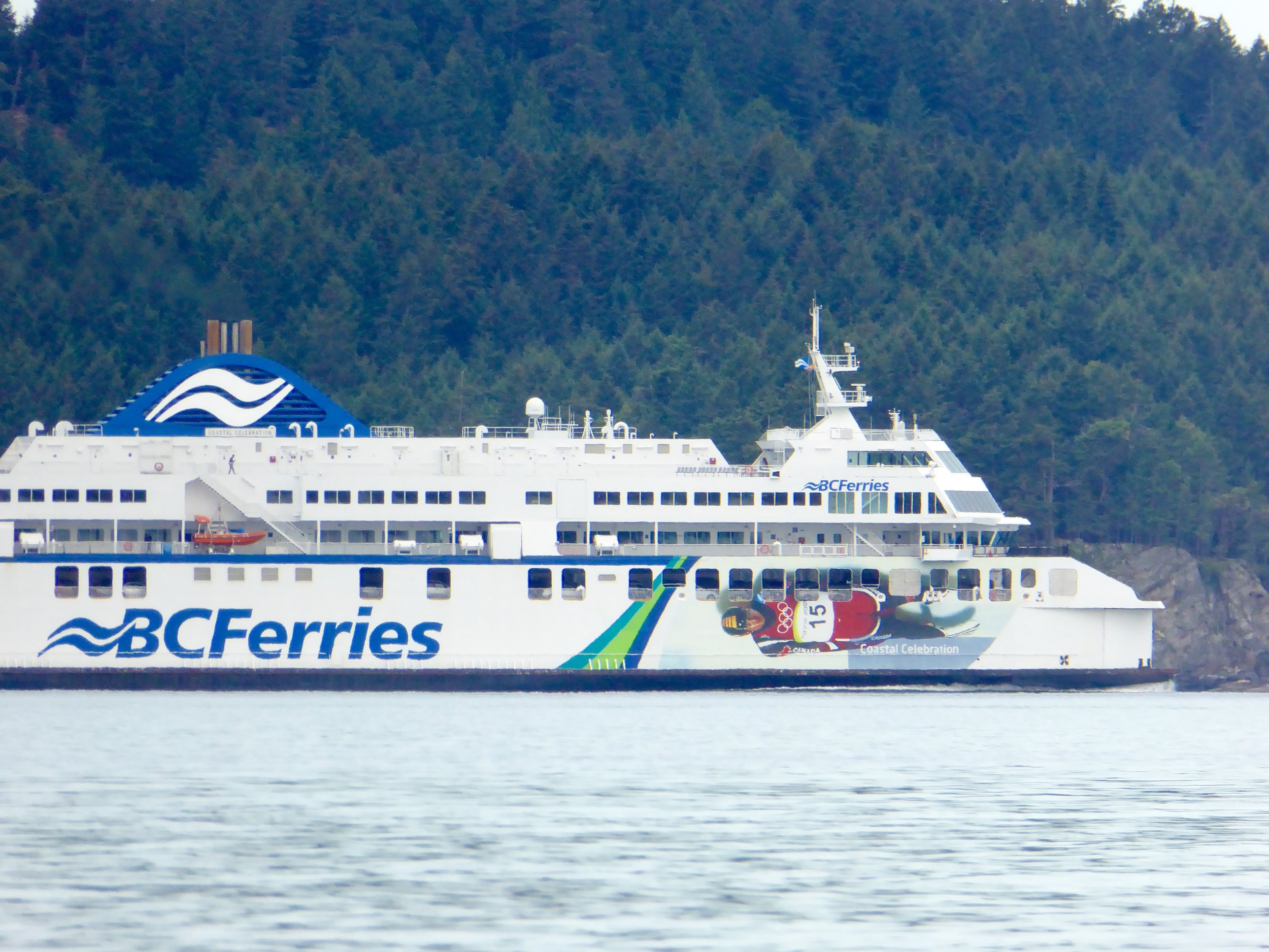 Lots of ferries today!