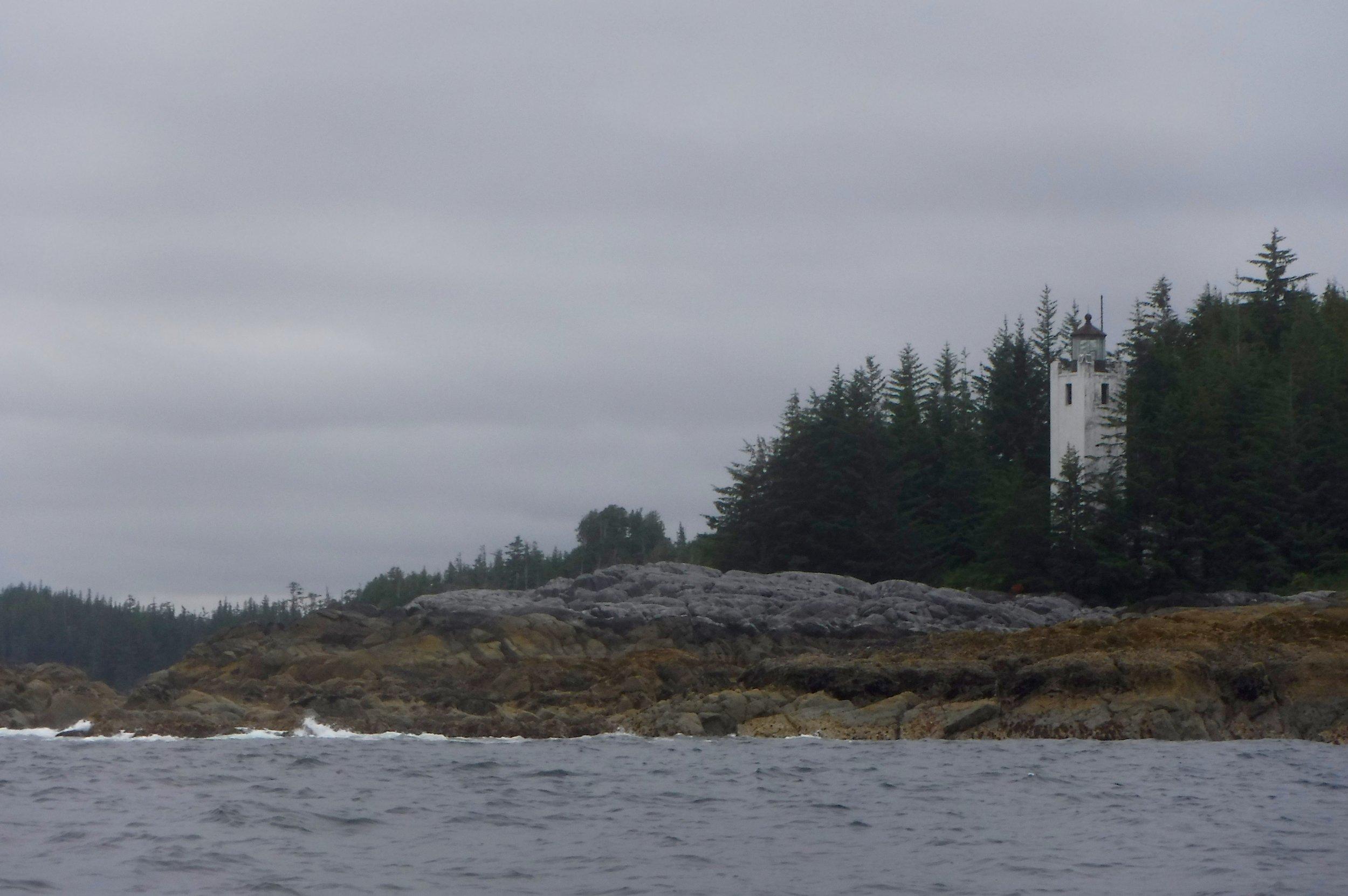 An Alaskan lighthouse