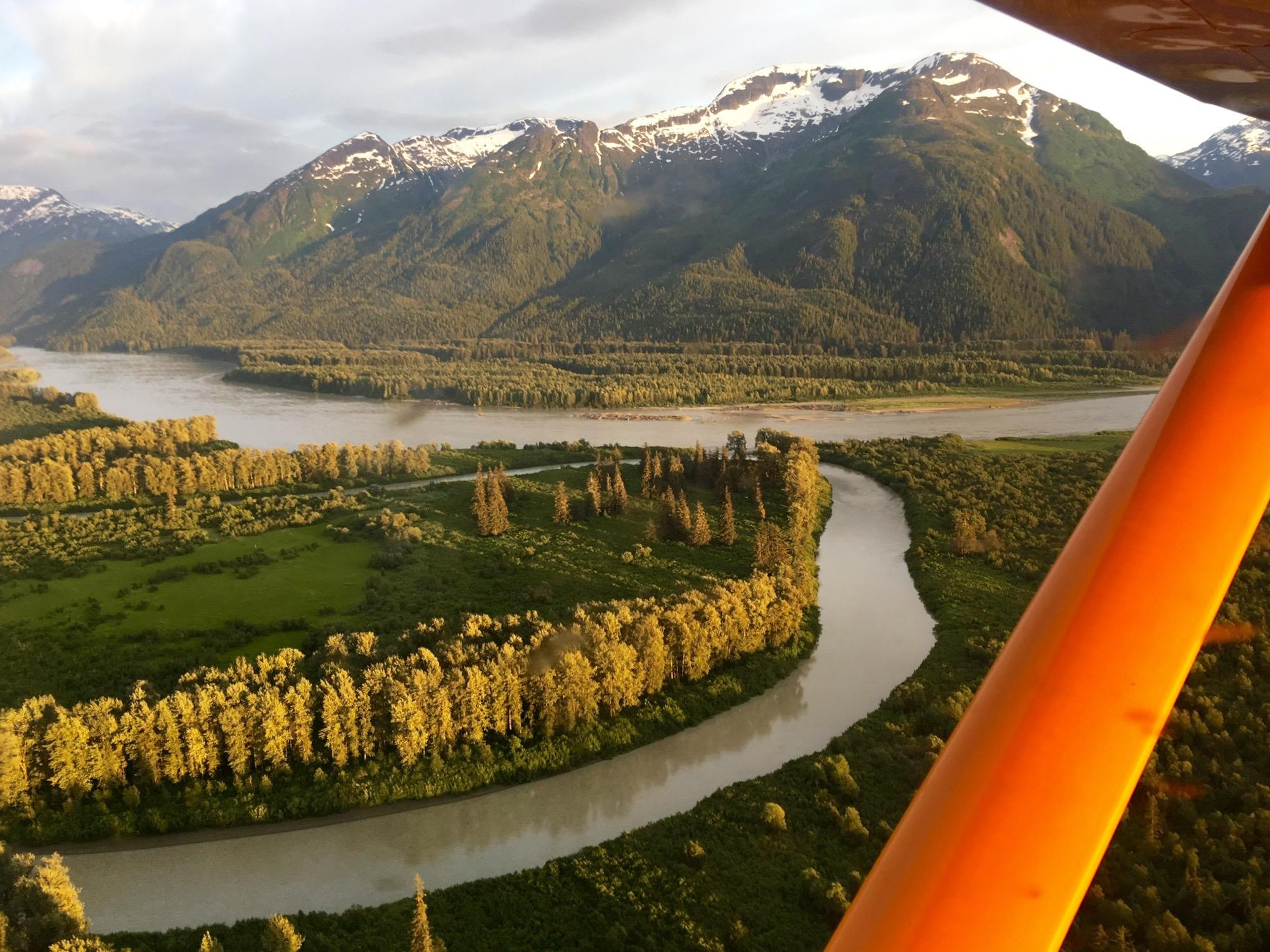 Sticking River Valley