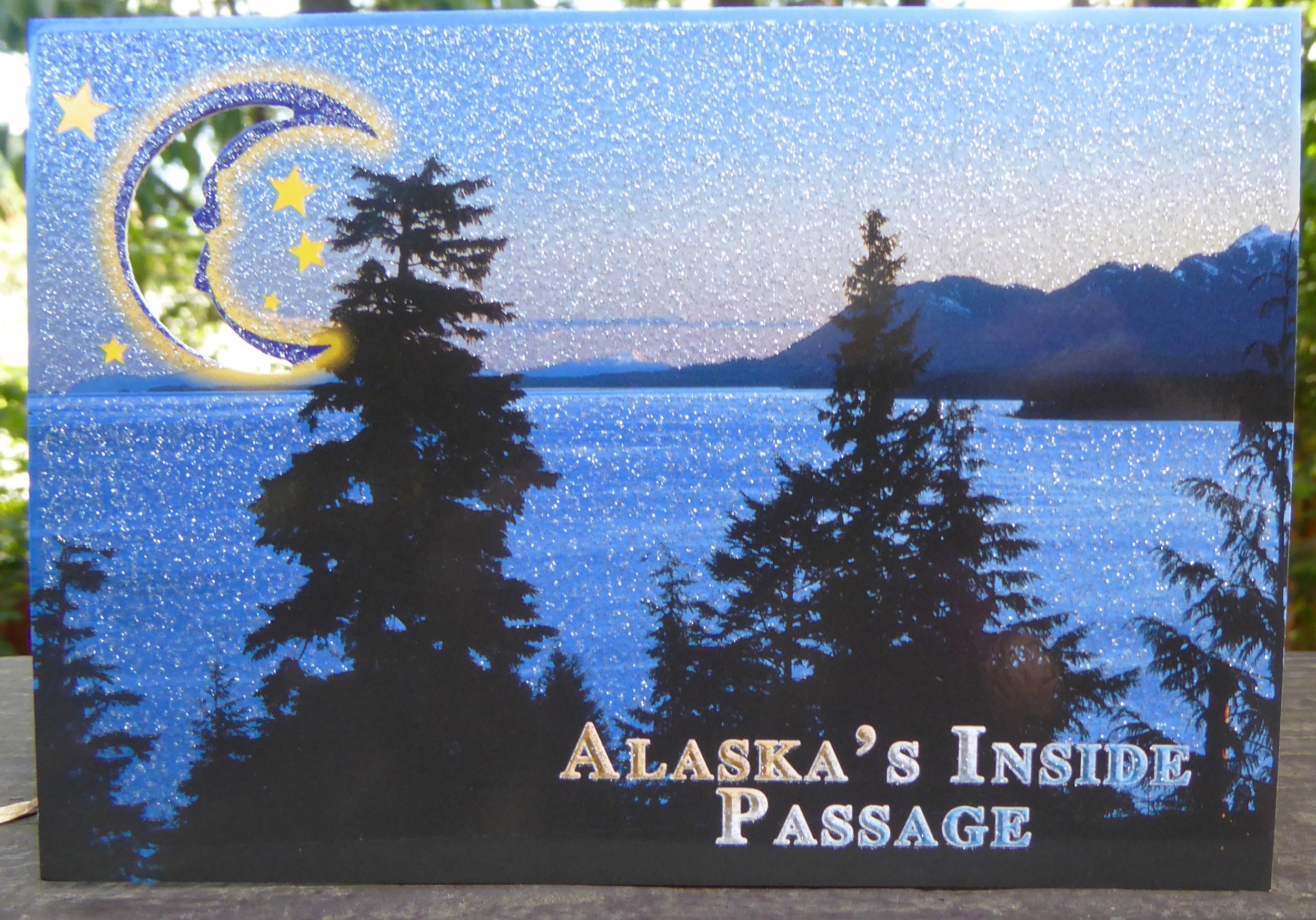 We are beginning the Alaskan part of the Inside passage today