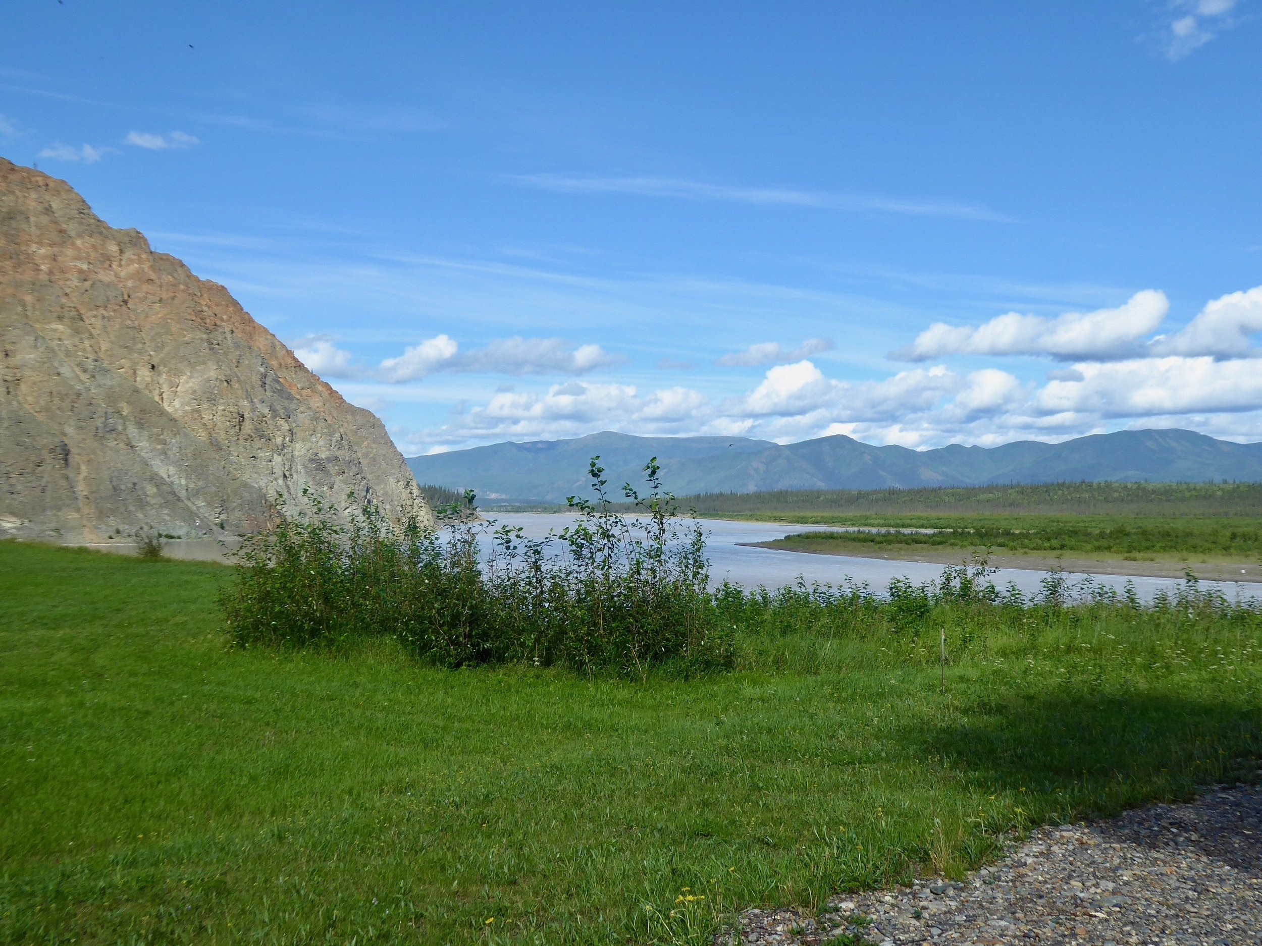 We will now be paddling till we reach Circle in what is known as the Yukon-Charley Rivers National Preserve.