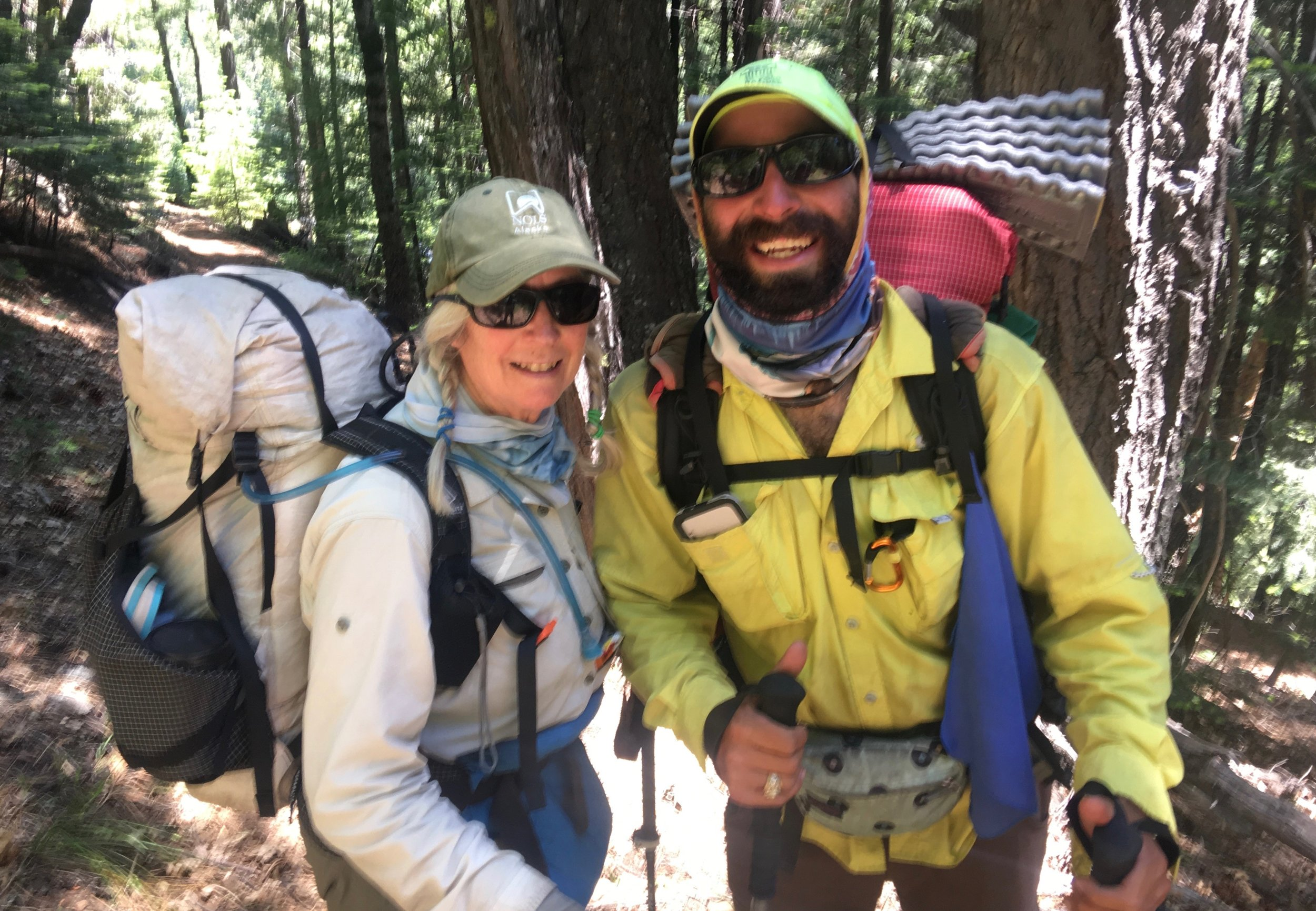 We had hiked with him for several days in the dessert section and had also overlapped in a town, where he had to take several days off for an injury. He was from a southern state and had never been in snow. Hiking thru the sierras had given him many stories to share.  He highly recommended the gut buster!