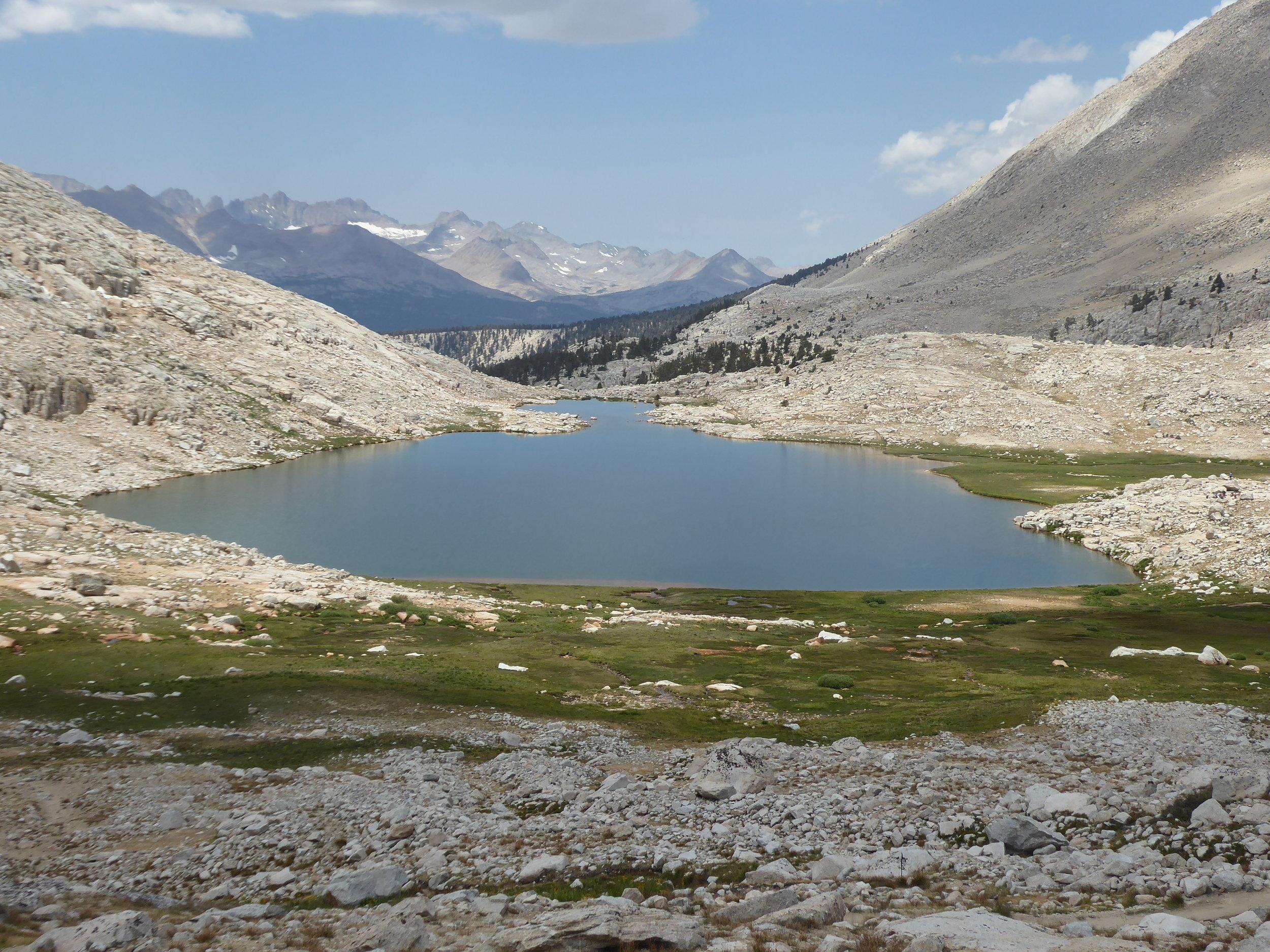 This lake has the obvious name of Guitar Lake.